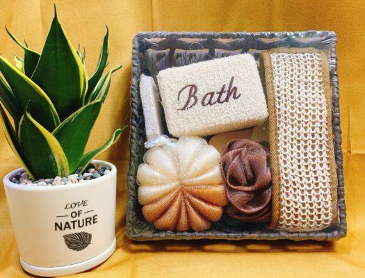 Bộ dụng cụ tắm