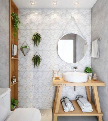 Trang trí phòng tắm căn hộ