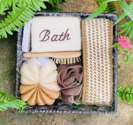 quà tặng dụng cụ tắm gỗ tại TPHCM
