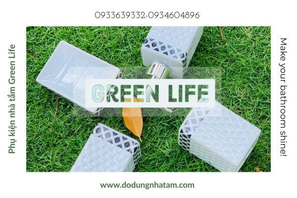 Bộ chai lọ nhà tắm TPHCM- Green Life