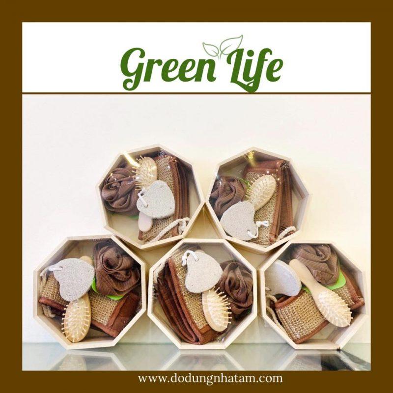 Set dụng cụ nhà tắm TPHCM- Green Life
